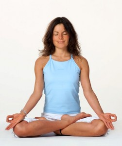 Meditation-Augen-geschlossen